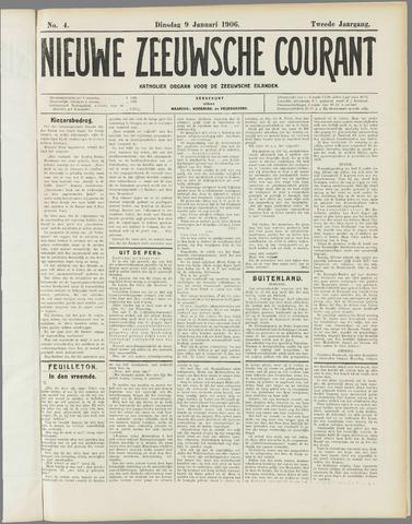 Nieuwe Zeeuwsche Courant 1906-01-09