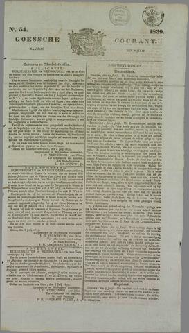 Goessche Courant 1839-07-08