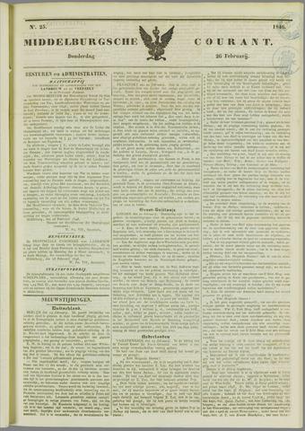 Middelburgsche Courant 1846-02-26