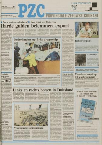 Provinciale Zeeuwse Courant 1992-11-23