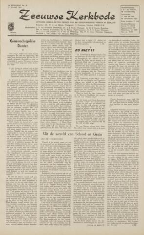 Zeeuwsche kerkbode, weekblad gewijd aan de belangen der gereformeerde kerken/ Zeeuwsch kerkblad 1962-03-23