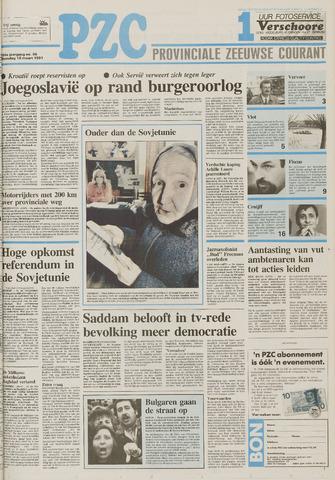 Provinciale Zeeuwse Courant 1991-03-18