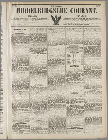 Middelburgsche Courant 1903-07-28