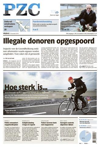 Provinciale Zeeuwse Courant 2014-12-12