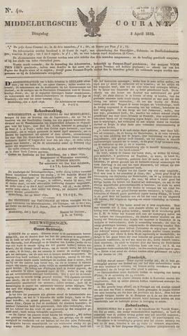 Middelburgsche Courant 1832-04-03