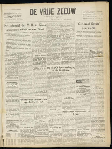 de Vrije Zeeuw 1950-09-16