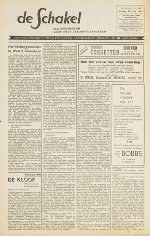 De Schakel 1963-04-26