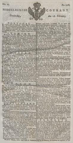 Middelburgsche Courant 1778-02-26