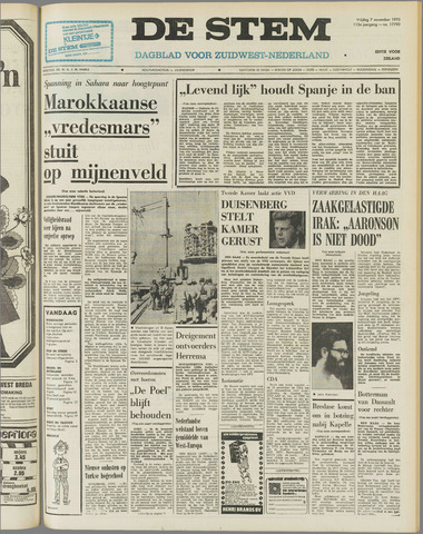 de Stem 1975-11-07