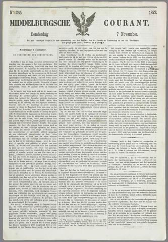 Middelburgsche Courant 1872-11-07