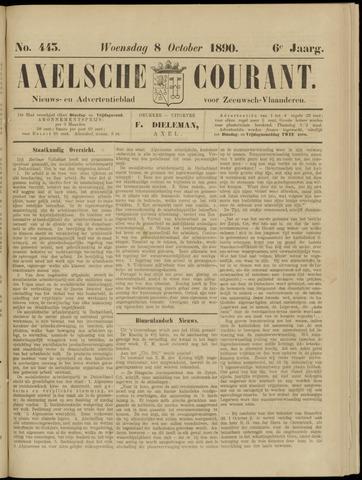 Axelsche Courant 1890-10-08