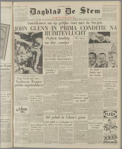 de Stem 1962-02-21