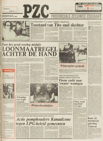 Provinciale Zeeuwse Courant 1980-02-14