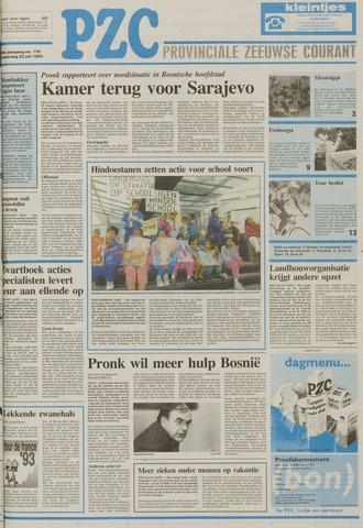 Provinciale Zeeuwse Courant 1993-07-22