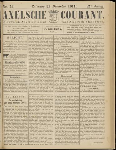 Axelsche Courant 1911-12-23