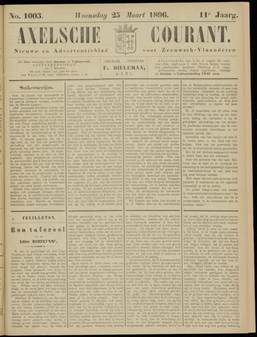 Axelsche Courant 1896-03-25