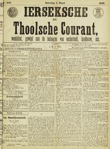 Ierseksche en Thoolsche Courant 1892-03-05