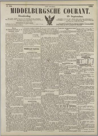 Middelburgsche Courant 1902-09-25