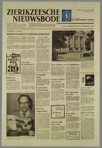 Zierikzeesche Nieuwsbode 1972-08-24