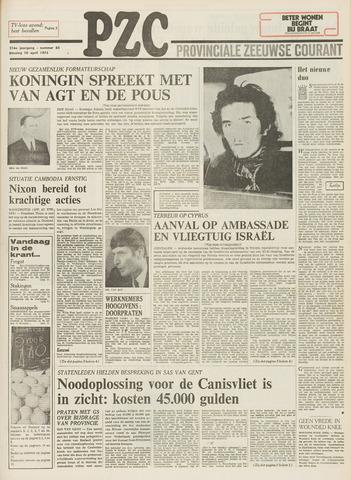 Provinciale Zeeuwse Courant 1973-04-10