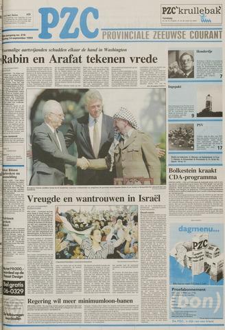 Provinciale Zeeuwse Courant 1993-09-14