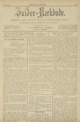 Zuider Kerkbode, Weekblad gewijd aan de belangen der gereformeerde kerken in Zeeland, Noord-Brabant en Limburg. 1897-01-15