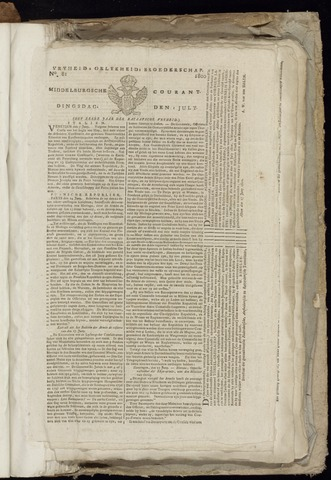 Middelburgsche Courant 1800-07-01
