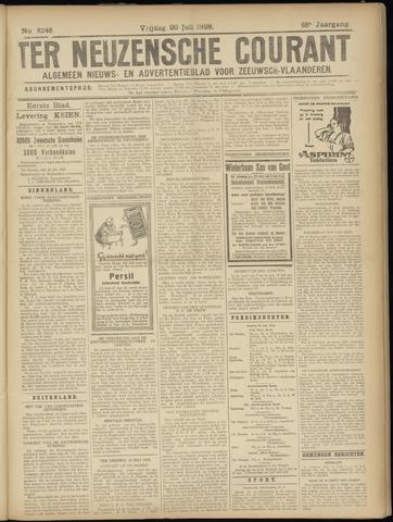 Ter Neuzensche Courant. Algemeen Nieuws- en Advertentieblad voor Zeeuwsch-Vlaanderen / Neuzensche Courant ... (idem) / (Algemeen) nieuws en advertentieblad voor Zeeuwsch-Vlaanderen 1928-07-20