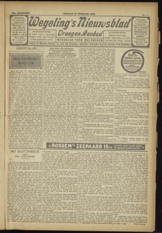 Zeeuwsch Nieuwsblad/Wegeling's Nieuwsblad 1929-02-15