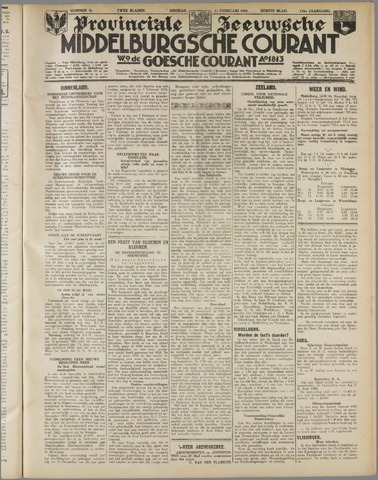 Middelburgsche Courant 1935-02-12