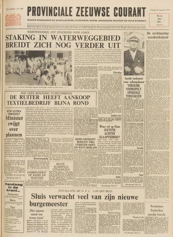 Provinciale Zeeuwse Courant 1970-08-28