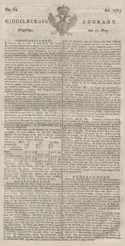 Middelburgsche Courant 1763-05-31