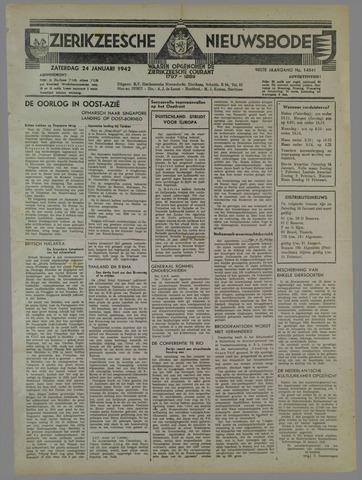 Zierikzeesche Nieuwsbode 1942-01-24