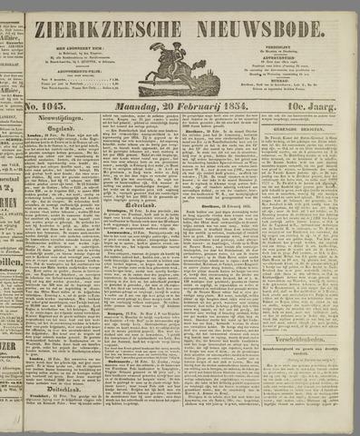 Zierikzeesche Nieuwsbode 1854-02-20