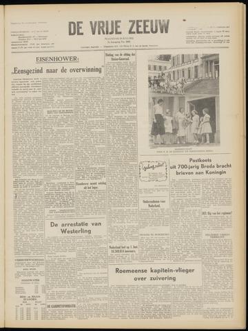 de Vrije Zeeuw 1952-07-14