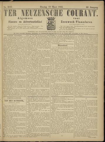 Ter Neuzensche Courant. Algemeen Nieuws- en Advertentieblad voor Zeeuwsch-Vlaanderen / Neuzensche Courant ... (idem) / (Algemeen) nieuws en advertentieblad voor Zeeuwsch-Vlaanderen 1895-03-19