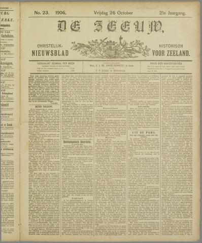 De Zeeuw. Christelijk-historisch nieuwsblad voor Zeeland 1906-10-26