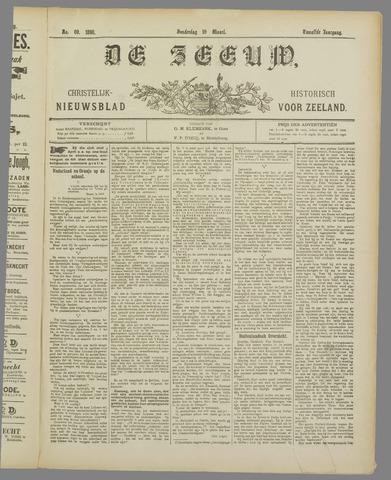 De Zeeuw. Christelijk-historisch nieuwsblad voor Zeeland 1898-03-10
