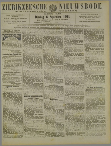 Zierikzeesche Nieuwsbode 1904-09-06