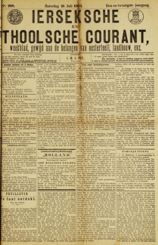 Ierseksche en Thoolsche Courant 1904-07-16