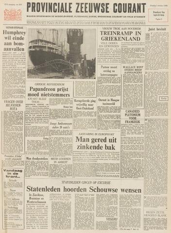Provinciale Zeeuwse Courant 1968-10-01