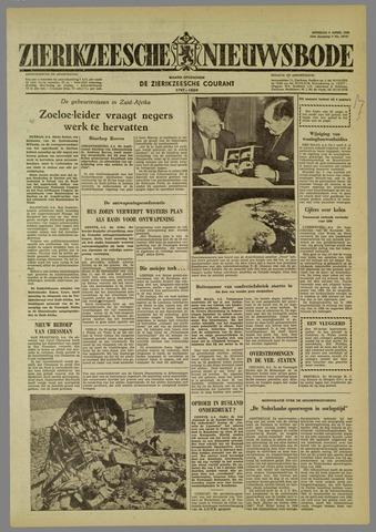 Zierikzeesche Nieuwsbode 1960-04-05