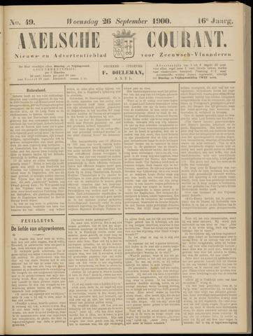 Axelsche Courant 1900-09-26