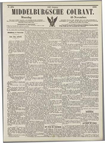 Middelburgsche Courant 1901-11-25