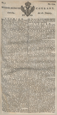 Middelburgsche Courant 1779-01-16