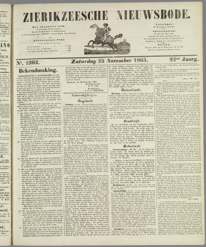 Zierikzeesche Nieuwsbode 1865-11-25