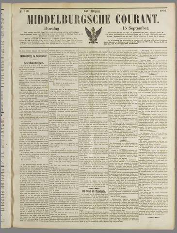 Middelburgsche Courant 1908-09-15