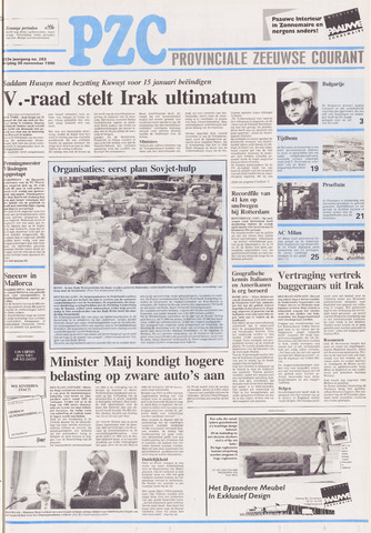 Provinciale Zeeuwse Courant 1990-11-30
