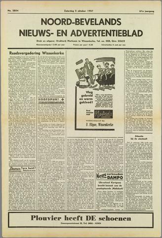 Noord-Bevelands Nieuws- en advertentieblad 1957-10-05