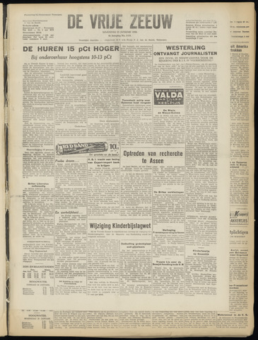 de Vrije Zeeuw 1950-01-23
